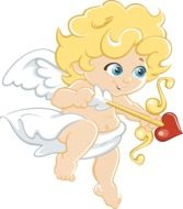 clipart,picture of romantic angel
