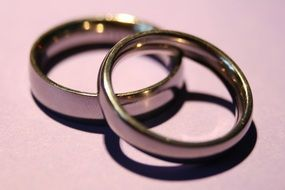 Wedding Rings Marriage Love