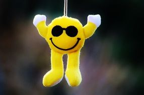 hanging soft smiley