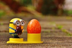 Minion toy and Easter Egg