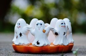 Halloween Ghosts Group decoration