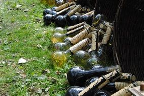 Bottles Alcohol