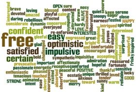 words about freedom and optimism