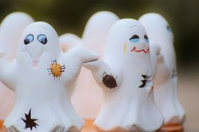 funny Ghosts Group happy halloween