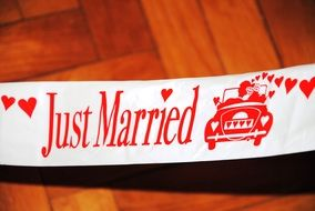 Just Married poster drawing