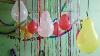 balloons for birthday celebration