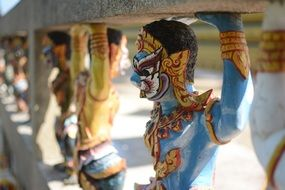 traditional religious statues in thailand