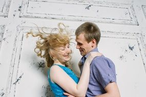 photo shoot of a happy couple