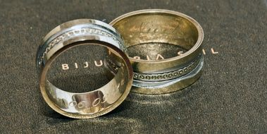 Wedding Rings with Love