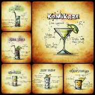 recipes of alcohol beverages
