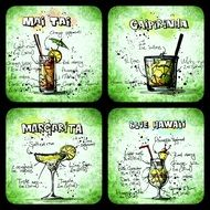 recipe of alcohol cocktails