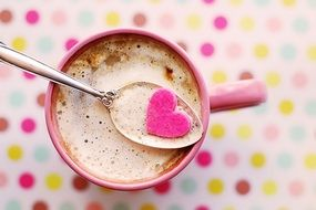 Hot Chocolate with Heart