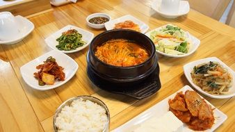 traditonal Korean food