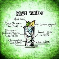 blue tahoe cocktail recipe