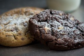 appetizing Two Chocolate Cookie