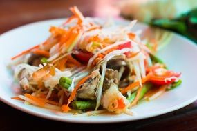 Thai Spicy Asian Food