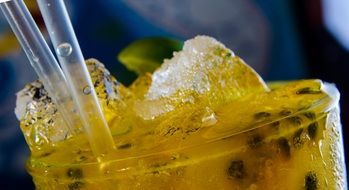 frozen Mojito, Passion Fruit Drink