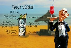 blue tahoe alcoholic cocktail