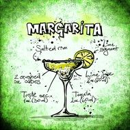 recipe of margarita cocktail