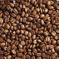 wallpaper with roasted coffee beans