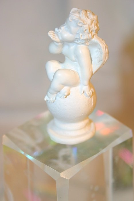 Cherub angel figurine