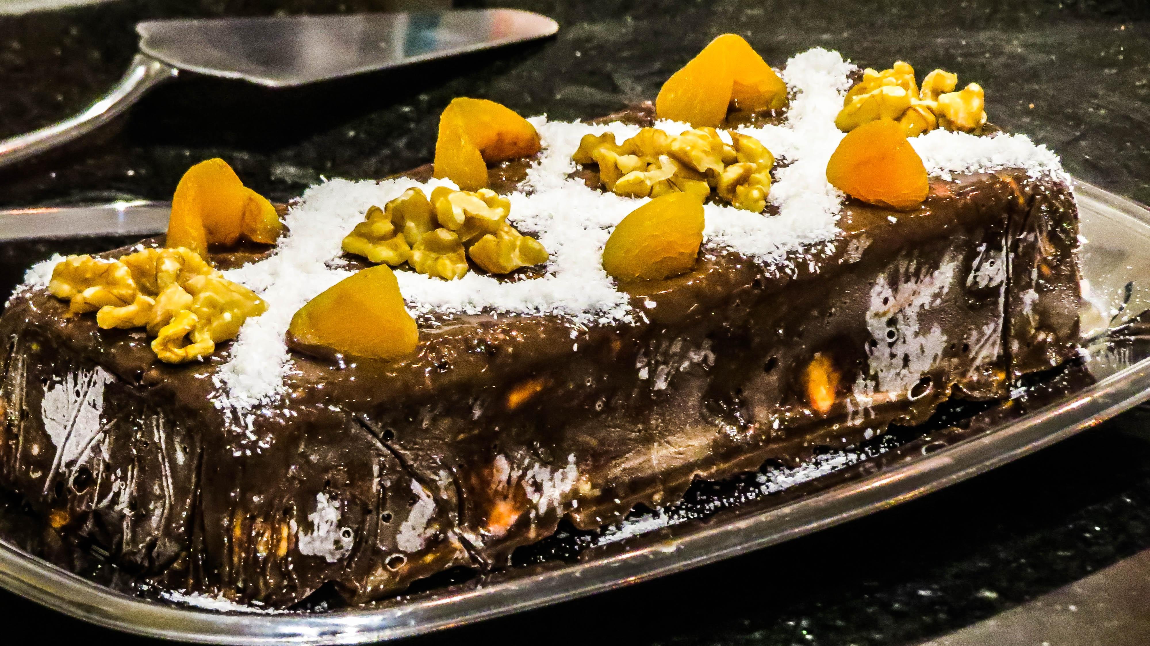 еда торт киви орехи food cake kiwi nuts скачать