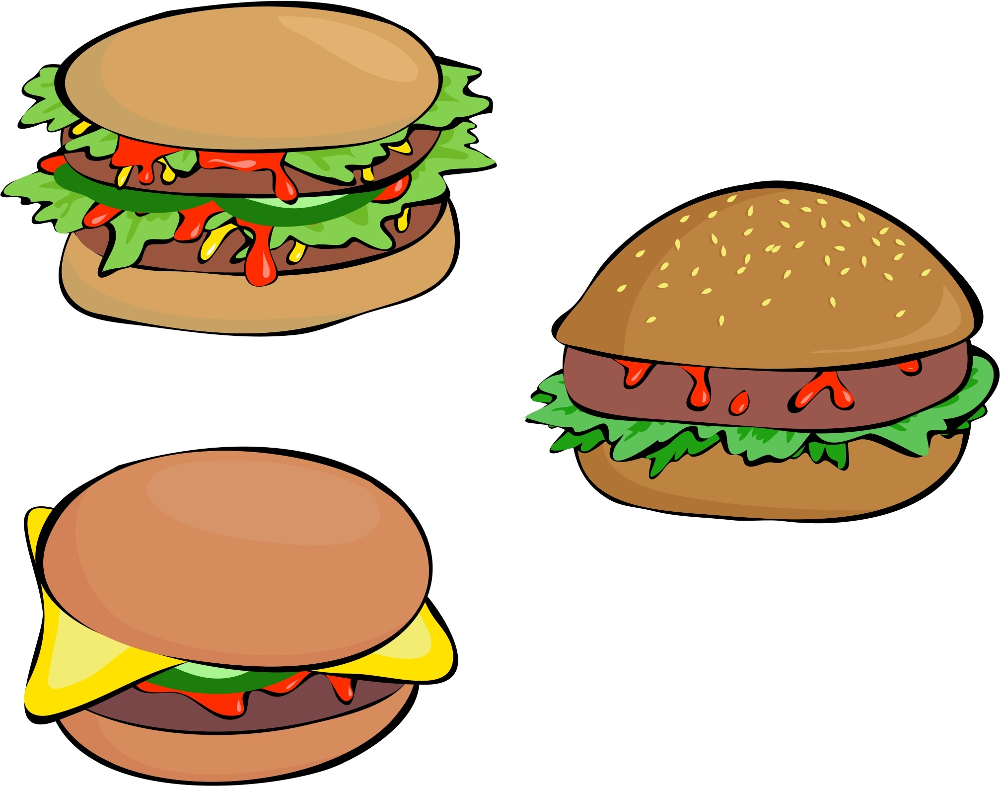 download food clip art free clipart of delicious foods - HD2016×1582