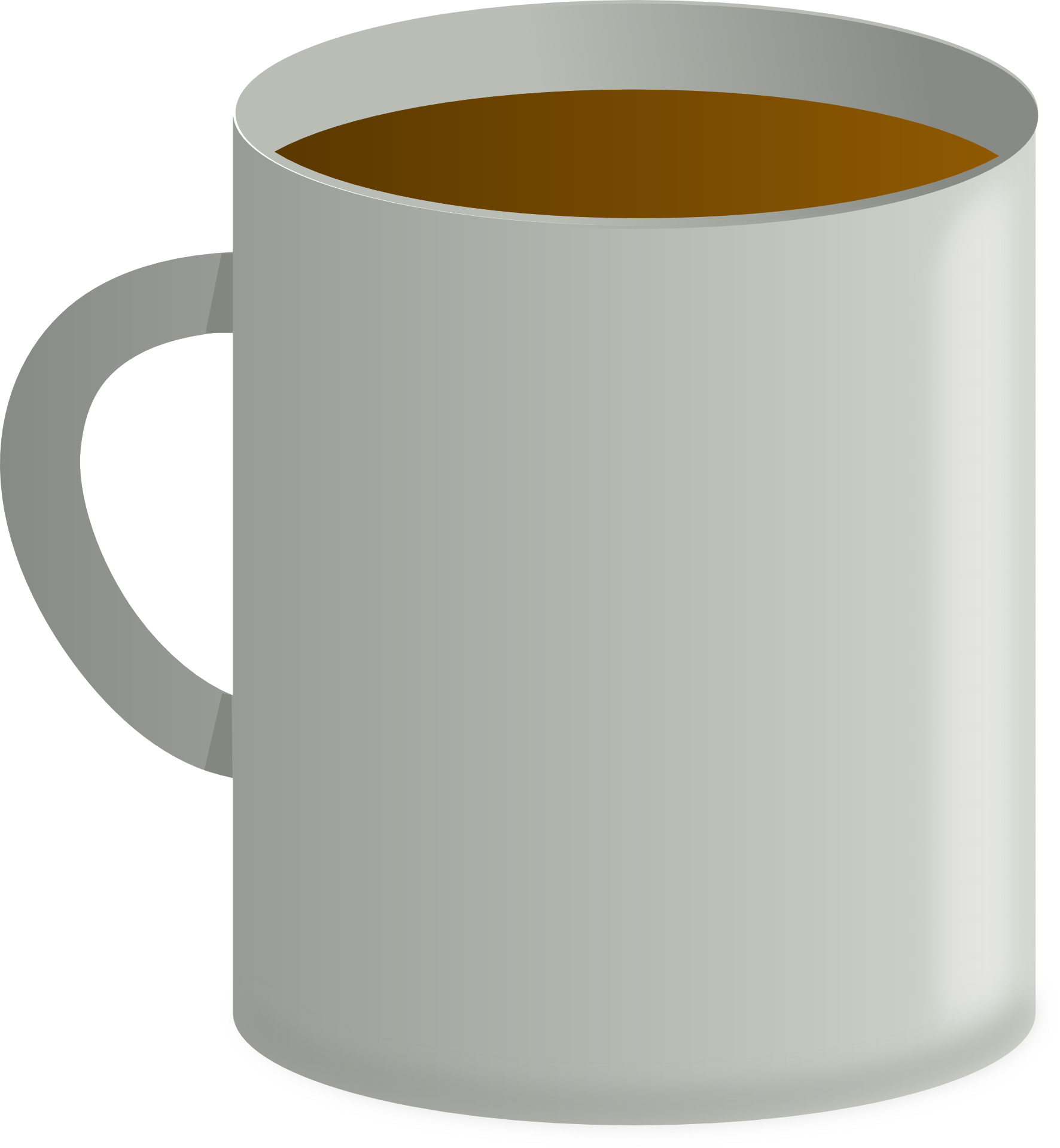 coffee in the white coffee mug clipart free image https pixy org licence php