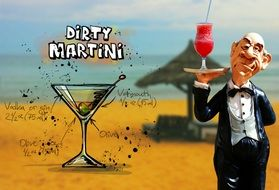 recipe of dirty martini