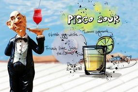 recipe of pisco sour drink