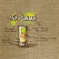 recipe of alcohol drink hiroshima