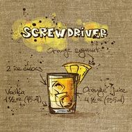 recipe of screwdriver alcoholic drink