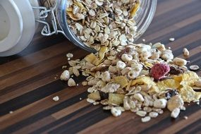 Muesli for a wholesome breakfast