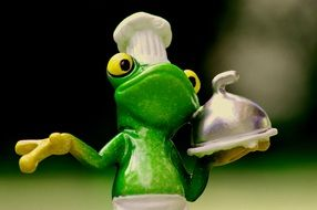 Frog Cooking Eat Kitchen