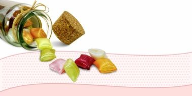 Candy Confectionery Sweet postcard