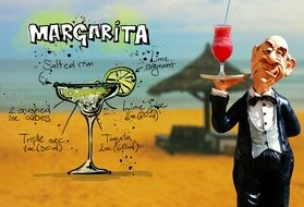 Margarita cocktail and its composition
