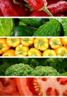 Vegetables collage photo