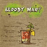 wallpaper with bloody mary cocktail recipe