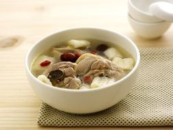 Pork meat Soup China cuisine