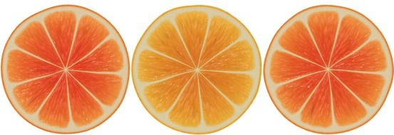 Orange Slices Abstract drawing