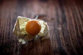 Physalis on the table