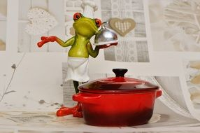 funny chief Frog Kitchen