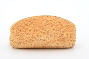 bread on a white surface