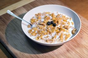 Cereal Breakfast with milk