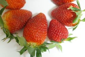 delicious Strawberries Fruits for a lot of vitamins