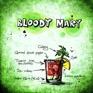 bloody mary drink recipe