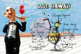 blue hawaii drink