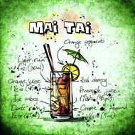 mai tai alcohol drink recipe