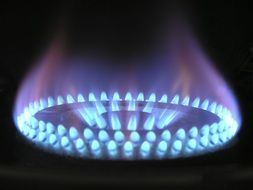 multilayer gas flame