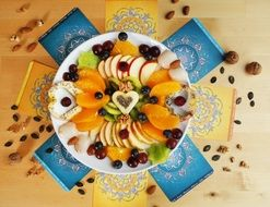 Fruit colorful Salad